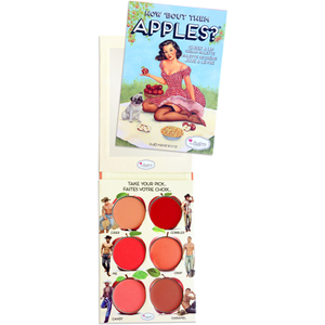 Paleta para labios y mejillas How 'Bout Them Apples de  theBalm