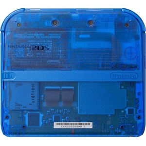 Nintendo 2DS Transparent Blue + Pokémon Alpha Sapphire: Image 5