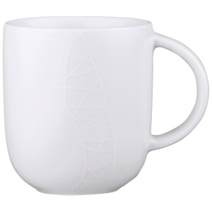 Jamie Oliver Mugs - White on White