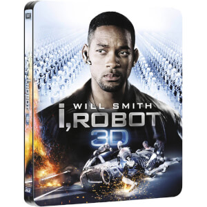 I, Robot 3D (Includes 2D Version) - Zavvi UK Exclusive Limited Edition Steelbook