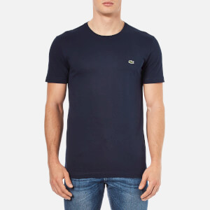 Lacoste Men's Basic Crew T-Shirt - Navy