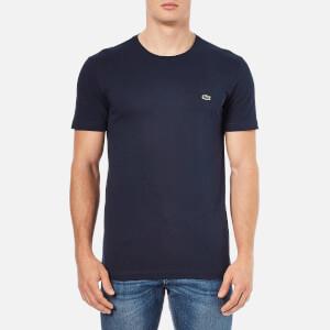 Lacoste Men's Basic Crew T-Shirt - Navy