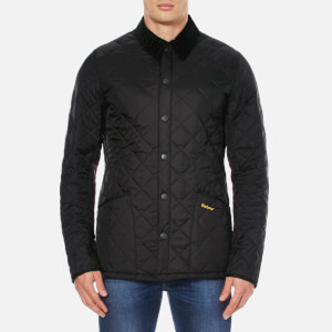 Barbour Heritage Men's Liddesdale Quilt Jacket - Black