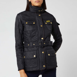 Barbour International Women's Polarquilt Parka - Black