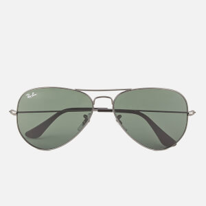 Ray-Ban Aviator Large Metal Sunglasses - Gunmetal - 58mm