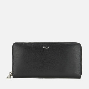 Lauren Ralph Lauren Women's Tate Zip Wallet - Black