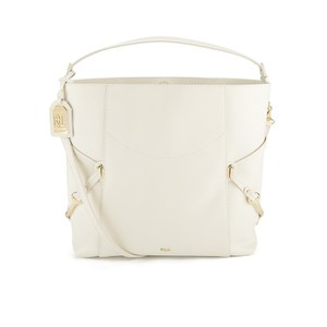 Lauren Ralph Lauren Women's Woodbridge Large Hobo Bag - Ivory
