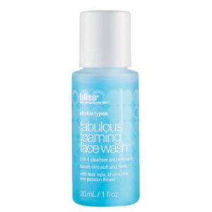 Bliss Fabulous Foaming Face Bottle 1oz