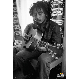Bob Marley Guitar - Maxi Poster - 61 x 91.5cm
