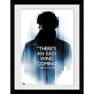 Sherlock East Wind - 16x12 Framed Photographic