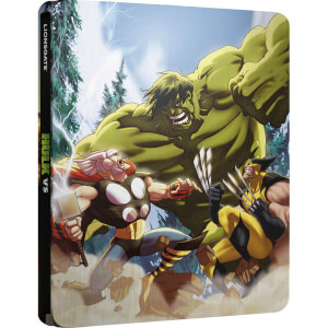Hulk Vs - Zavvi Exclusive Limited Edition Steelbook (2000 Only)