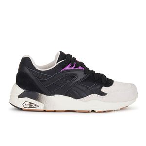 Puma Women's R698 Blocks and Stripes Trainers - Black