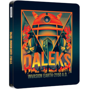 Daleks - Invasion Earth: 2150 A.D. - Zavvi UK Exclusive Limited Edition Steelbook (2000 Only)