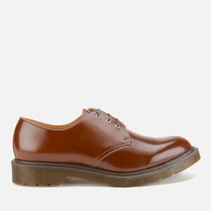 Dr. Martens Men's 'Made in England' Core 1461 3 Eye Leather Shoes - Tan Boanil Brush