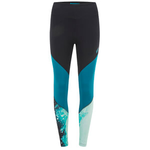Myprotein Women's High Waisted Colour Block Leggings - Teal