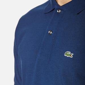 Lacoste Men's Polo Shirt - Deep Blue: Image 4