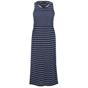 VILA Women's Trille Striped Dress - Black Iris