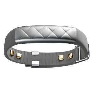 Jawbone UP3 Wristband Activity and Sleep Tracker - Silver Cross