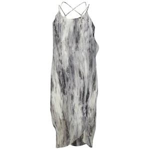 Vero Moda Women's Marble Strap Sun Dress - Black