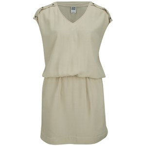 Vero Moda Women's Village Dress - Oatmeal