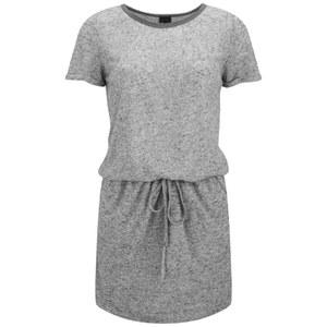 Six Ames Women's Ramona Drawstring Dress - Grey Marl