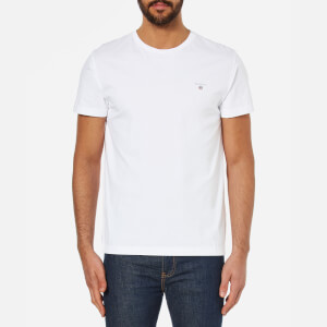 GANT Men's The Original Short Sleeve T-Shirt - White