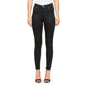 Cheap Monday Women's High Spray High Waisted Jeggings - Black