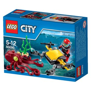 LEGO City: Deep Sea Scuba Scooter (60090)