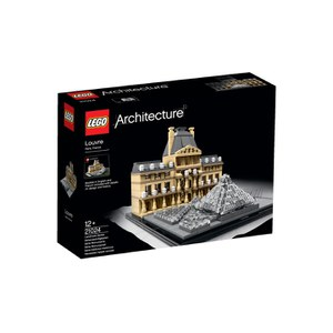Cross-Border:-  LEGO ARCHITECTURE: LOUVRE (21024) low price