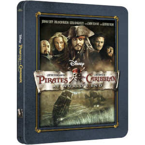 Pirates of the Caribbean: At World's End - Zavvi Exclusive Limited Edition Steelbook (3000 Only)