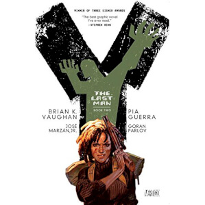 DC Comics Vertigo Y: The Last Man: Book Two Paperback Graphic Novel