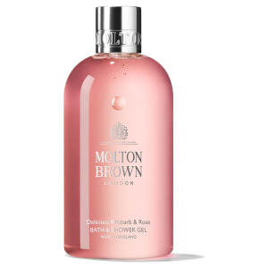 Żel pod prysznic i do kąpieli Molton Brown Delicious Rhubarb and Rose (300 ml)