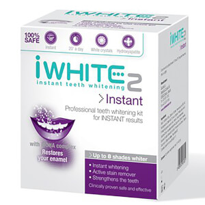 Kit de Branqueamento Dental Instant 2 Professional Teeth Whitening da iWhite (10 moldes)