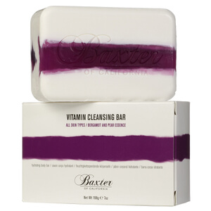 Baxter of California Vitamin Cleansing Bar - Bergamot and Pear 198 g