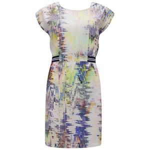 nümph Womens Garland Printed Dress - Lavender Fog