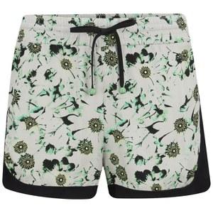 nümph Womens Kirsten Printed Shorts - Subtle Green