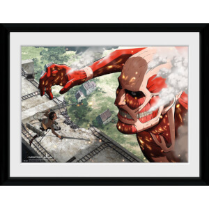 Attack on Titan Titan - 16x12 Framed Photographic
