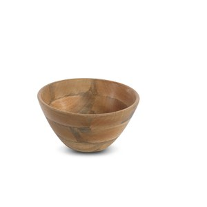 Nkuku Indus Wooden Bowl - Natural - Medium