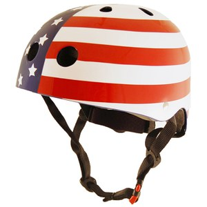 Kiddimoto USA Flag Helmet