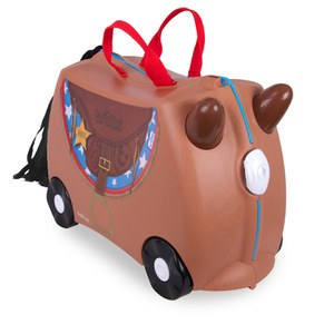 Trunki Bronco Ride-On Suitcase - Brown