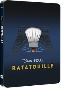Ratatouille 3D (+ Version 2D) - Steelbook Exclusif Édition Limitée pour Zavvi (The Pixar Collection #13) (3000 Copies Seulement)