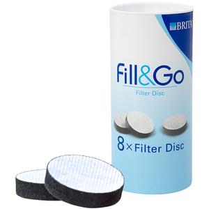 BRITA Fill & Go Filter Disks (8 stuks)