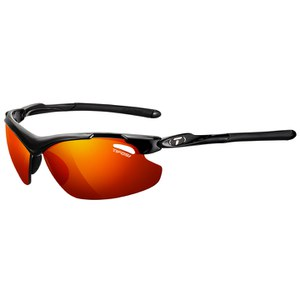 Tifosi Tyrant 2.0 Clarion Mirror Sunglasses - Gloss Black/Red