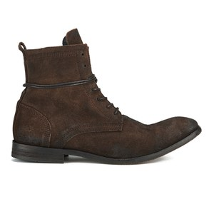Hudson London Men's Swathmore Lace Up Suede Boots - Brown Suede