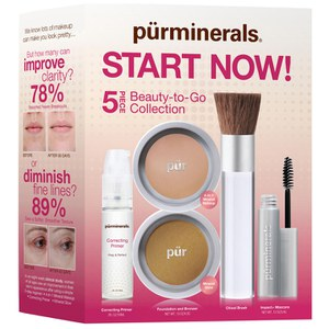 PUR Start Now Kit en Blush medio