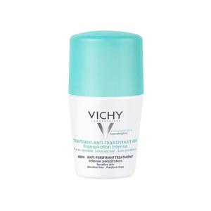 Anti-transpirante intensivo 48 horas Roll-On Vichy Deodorant 50 ml