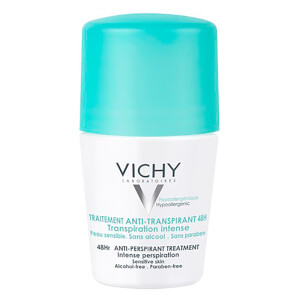 Vichy Deodorant 48Hour Intensive Anti-Perspirant Roll On -deodorantti 50ml