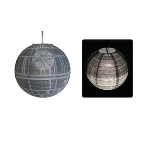 Star Wars Death Star Paper Lightshade: Image 1