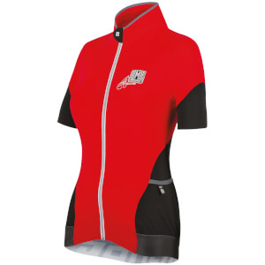 Santini Mearsey Women's Jersey - Azure Red