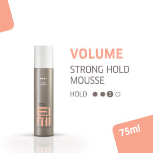 Espuma Extra Volume EIMI de Wella Professionals (75 ml)